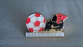 Manchester United Badges.