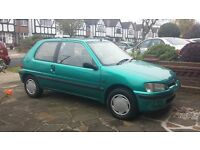 Peugeot 106 XLD 1.5 Diesel - Always garaged - MOT until 11/2017 - 2 previous owners