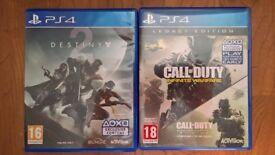 PS4 - Destiny 2 & Call of Duty Infinite Warfare