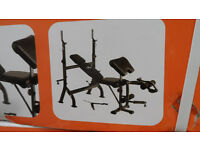 weights bench brand new in box unused cost £179 ,quick sale.