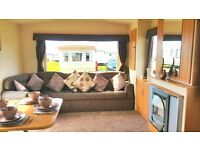 Static Caravans For Sale At The 12 Month Season Sandylands On The West Coast of Scotland