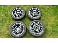 14'' Volkswagen scala snowflake scirocco, polo, golf alloy wheels