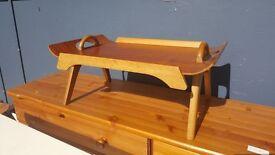 Antique Lap Tray