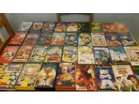 43 childrens video tapes
