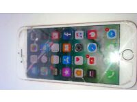 iPhone 6s 32g cracked screen full working order