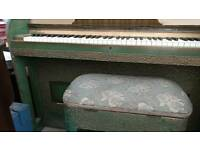 Collard and Collard Art Deco Pianino