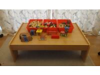 Train table and accessories