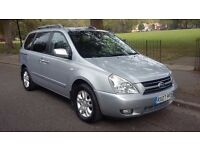 KIA SEDONA 2.9 TS TURBO DIESEL AUTOMATIC 7 SEATER TOP OF THE RANGE ONLY 78000 MILES.