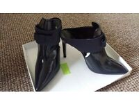 Ladies blue shoe/boots. Zara. Size 7. New in Box