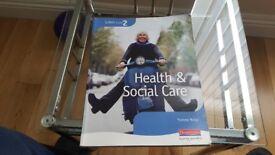 NVQ Level 2 Heath & Social Care Book