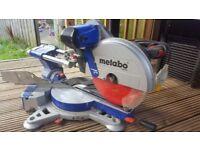 metabo compound sliding mitre saw