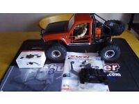 Cross rc demon SG4C scale crawler lights front rear and dash not ( axial vaterra losi traxxas )