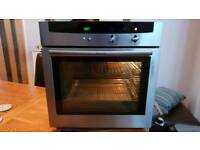Neff single electric oven & 5 burner hob