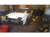 BREAKING Nissan S13 200sx ca18det project drift s14 rb25det 1jz