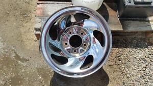 Steel wheel. oe 16 inch 5x135 chrome. x4