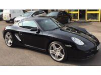 Porsche Cayman 2.7 with 911 Turbo alloys