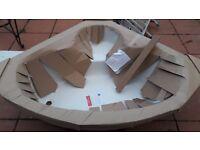 Acrylic Corner Bath 1200 X 1200 (Brand New - White)