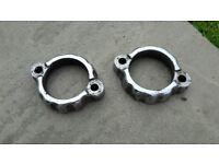Yamaha RD / XS / SR etc Exhaust flange clamps