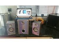 Mini speakers and sub woofer for Lap top/Tablet