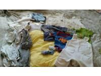 Boys/unisex clothes 0-3 months