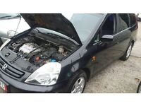 LHD HONDA STREAM 7 SEATS AUTOMATIC GEAR LEFT HAND DRIVE FROM GERMANY PETROL ENGINE