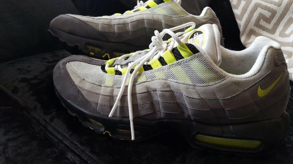 4450141a0f MENS NIKE AIR MAX 95 OG NEON QTJ 554970-071 UK SIZE 10 | in ...