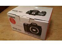 Canon EOS 70D body plus Tamron 16-300 lens