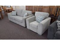 3 Seater Fabric Sofa & Armchair Can Deliver View Collect Hucknall Nottingham
