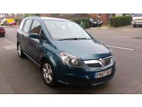 VAUXHALL ZAFIRA 2007 7 SEATER DIESEL AUTOMATIC QUICK SALE