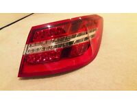 Mercedes E Class Coupe Cabriolet 2009-2016 Outer Rear LED Tail light lens