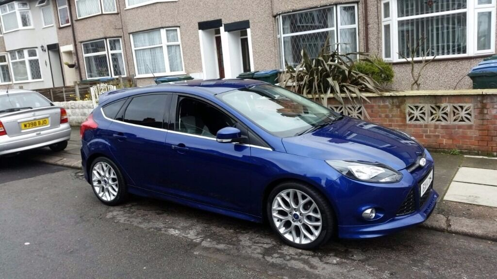 2014 ford focus zetec s in coventry west. Black Bedroom Furniture Sets. Home Design Ideas