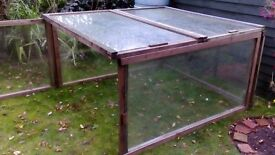 Glass Panels/ Frames can be made into Dutch light greenhouse etc