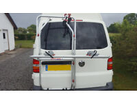 Fiamma Carry-Bike, Cycle Rack for Volkswagon T5 With Barn doors, includes instructions, cover, strap