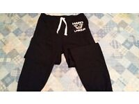 Hard Labour Bodybuilding Gym pants/joggers - size large, elasticated waist. unworn.