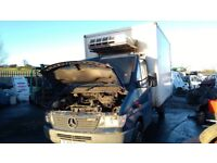 Mercedes sprinter 310d 312d parts available engine gearbox doors wheels axels prop shaft ecu set