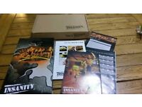 Insanity beach body 10 DVD fitness collection.