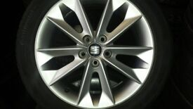 4 seat alloys and tyres