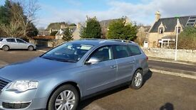 VW PASSAT ESTATE 1YR MOT 2.0d SEL SPORT Leather and nubuck interior