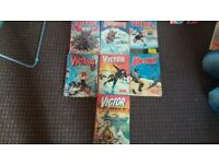 Classic Victor Books x 7 - Good Condition