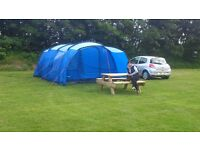 Vango 6 man tent only used twice due to injury it's in excellent condition £150 ono