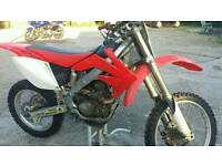 Motor cross Honda CRF 250