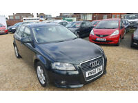 2008(58) Audi A3 Automatic 1.8 TFSI SE 5DR S TRONIC /PADDLE-SHIFT, Mot,2 keepers,Hpi Clear.A-climate