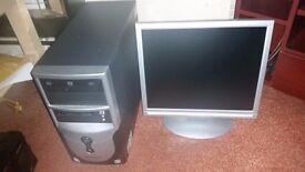 Pentium Dual Core 2.4GHZ Windows 10 full Computer system