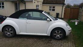 2006 vw beetle convertible 1.4l petrol