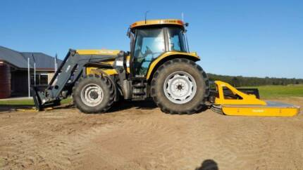 Acreage Slashing - Large tractor with loader and 7 foot Slasher . Yandina Creek Noosa Area Preview