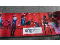 SingStar poster PlayStation