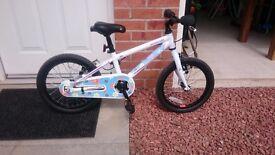 Girls 16 inch bike excellent condition