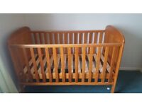 Cot bed and furniture set