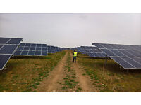 CREW MEMBER NEEDED URGENTLY FOR SOLAR FARM MAINTENANCE. NO EXPERIENCE REQUIRED