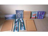 WALL ART, MIRRORS, RUGS, BEAN BAG & STORAGE. £3-£5.